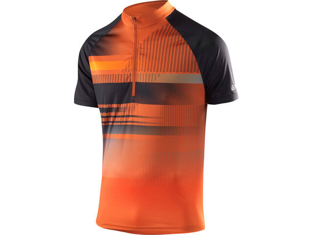 Löffler Track Bike Shirt Half-Zip Herren safran